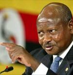 H.E Yoweri Museveni