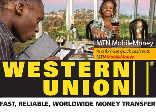 MTN and Western Union signed a deal to introduce cross-border Mobile Money Transfer Service in 21 countries
