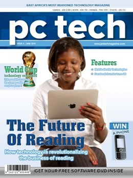 Cover of Issue #4 of PC Tech Magazine