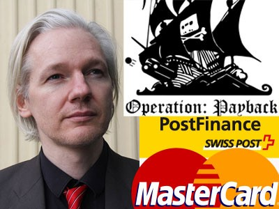 Operation: Payback has offered support for J. Assange