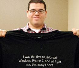Microsoft jailbreak t-shirt