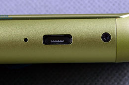 The Micro USB port on the Nokia N8 can be used for both data and charging