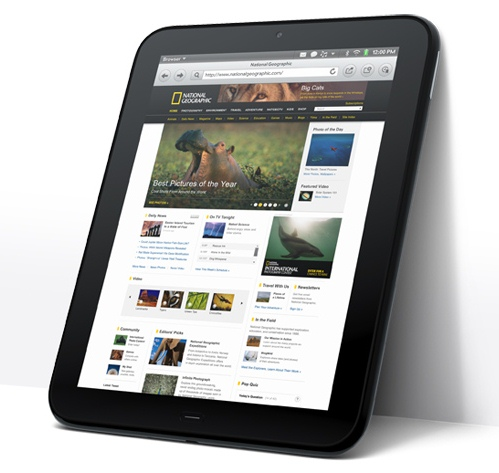 The TouchPad was introduced on February 9, 2011