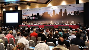 Icann voted to allow the proposals for the new domains at their meeting in Singapore in June 2011.