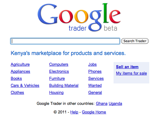 Google Trader Kenya
