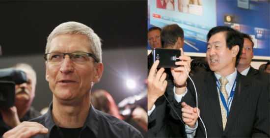 Tim_Cook_and_Choi_Gee_Sung-e1342692919632