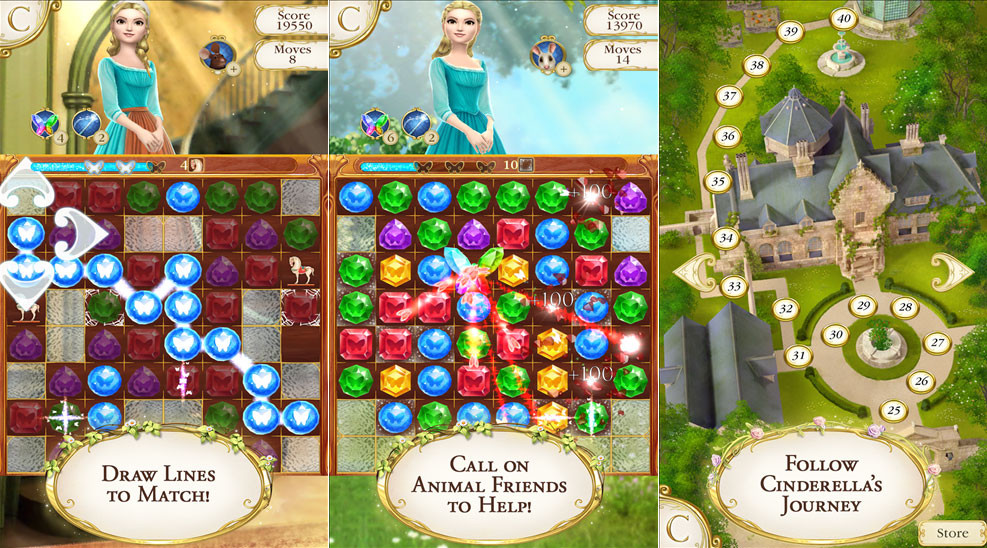 cinderella-free-fall-screenshot