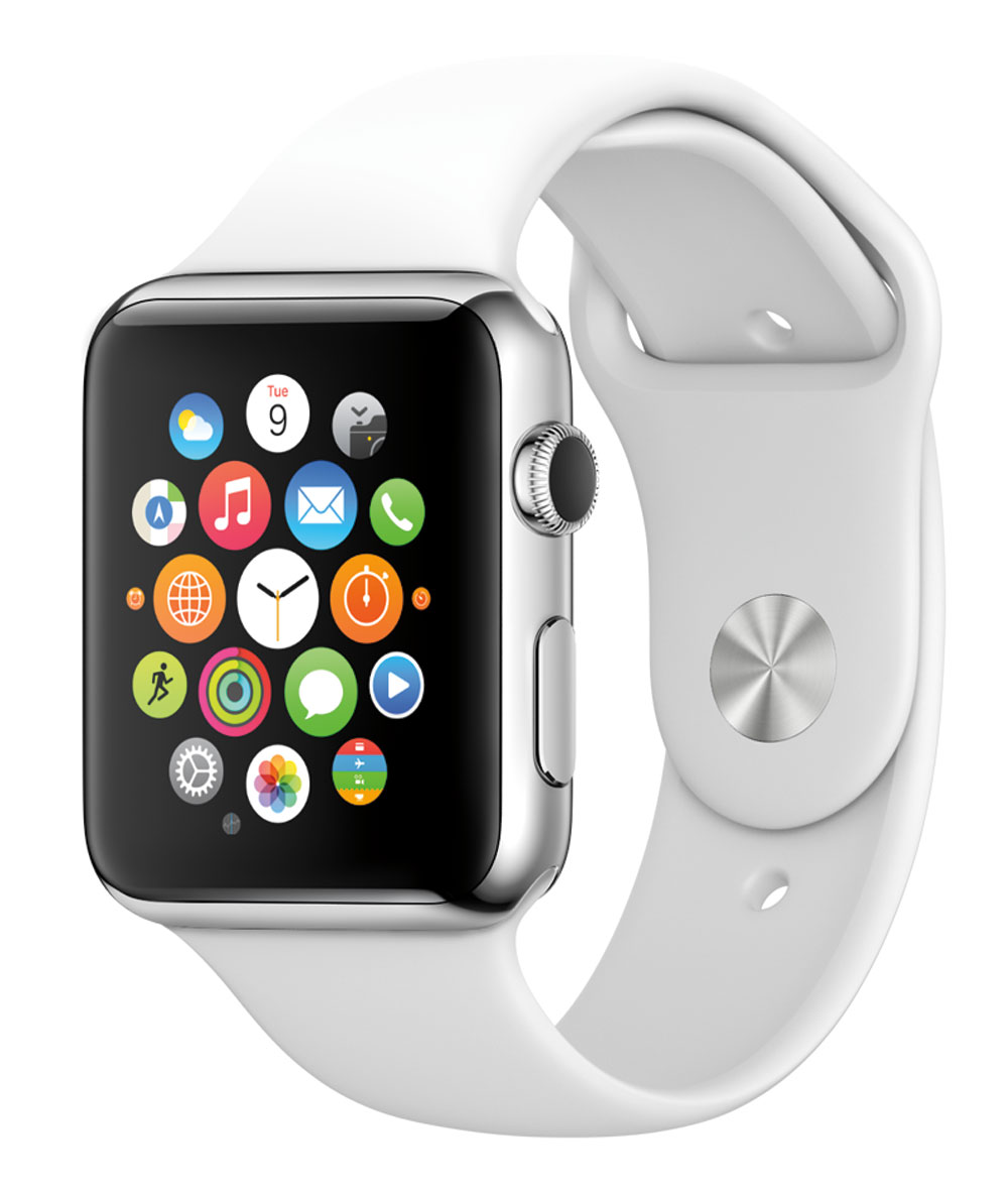 The Apple Watch, announced in 2015. Image Credit: Apple
