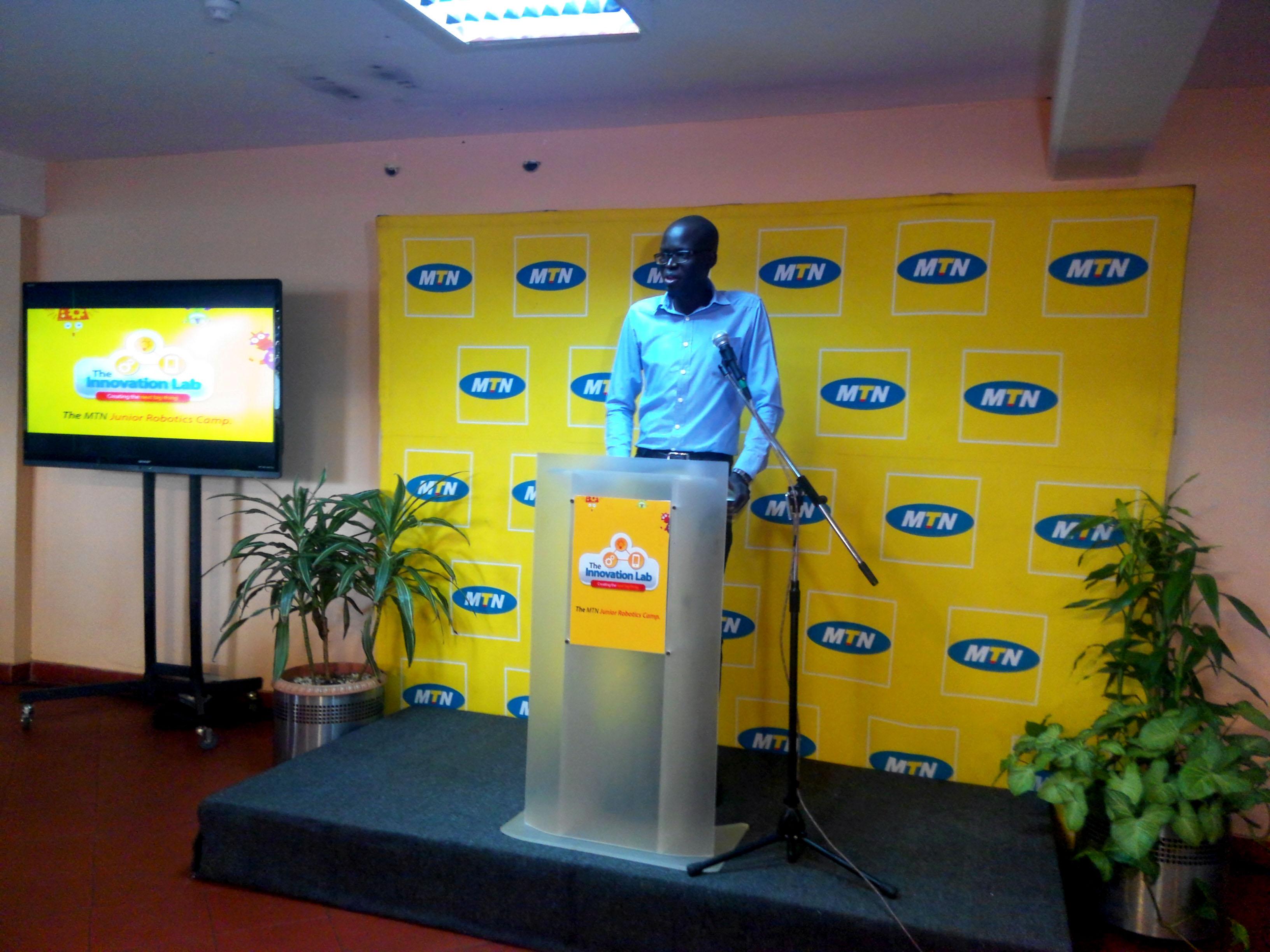 Solomon King Benge, founder of FundiBots