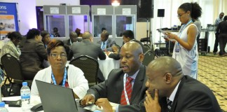 Round Table meetings going on at the 2014 Innovation Africa Summit