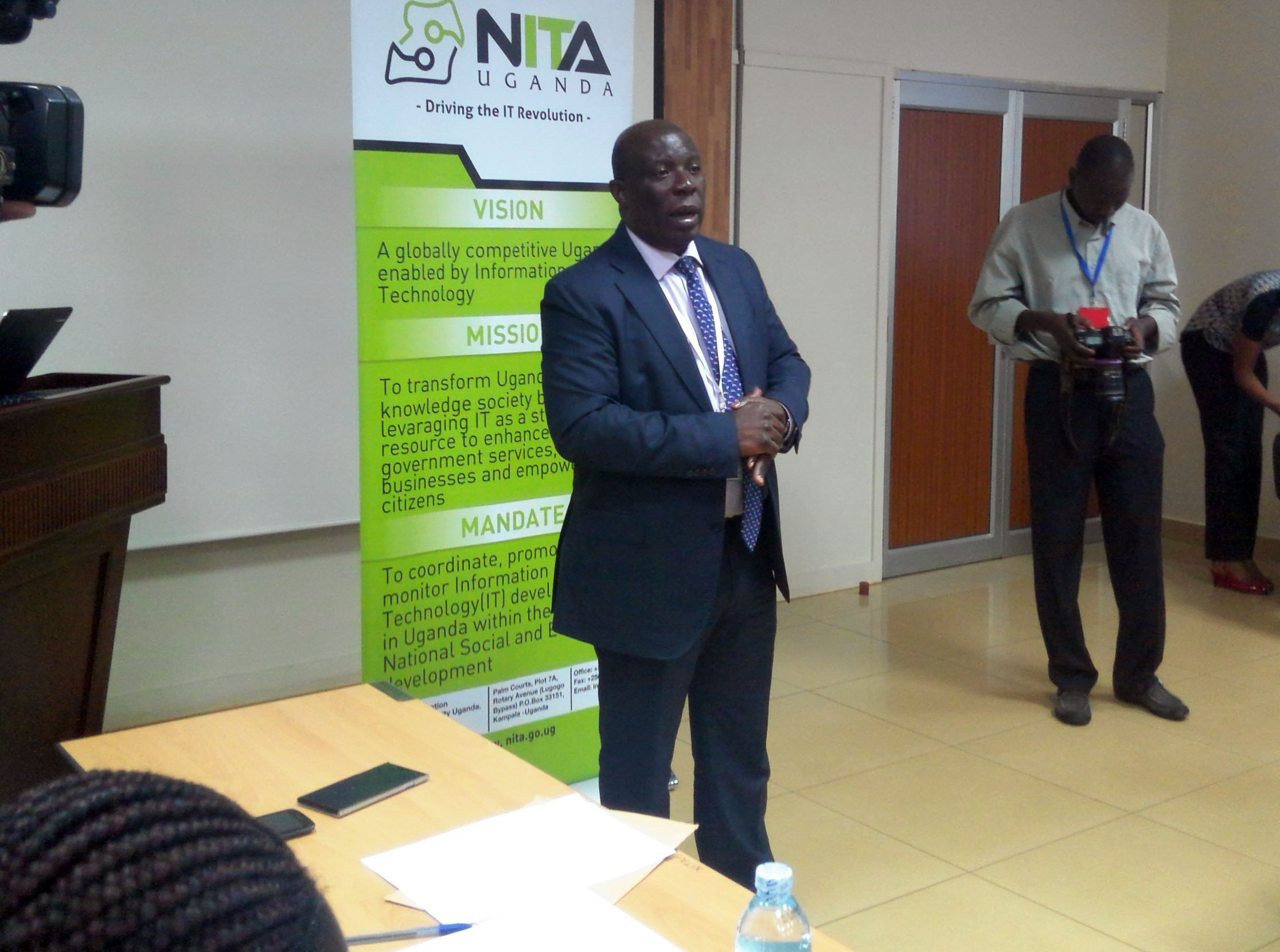 NITA Executive Director, Mr James Saaka also observed that the progress we are making as a country with internet penetration also presents challenges.