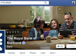 The Royal Bank of Scotland plans to have 30,000 workers on its Facebook at Work network by March of next year, and its entire workforce of 100,000 using the platform by the end of 2016.
