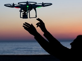 A trial of parcel deliveries by drone will be kicked off by Australia Post next year. Image Credit: AllureMedia