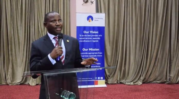 Centenary Bank Managing Directer, Fabian Kasi