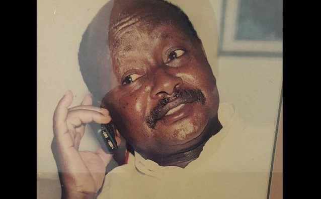 HE Museveni made the first call on MTN Uganda 17 years ago