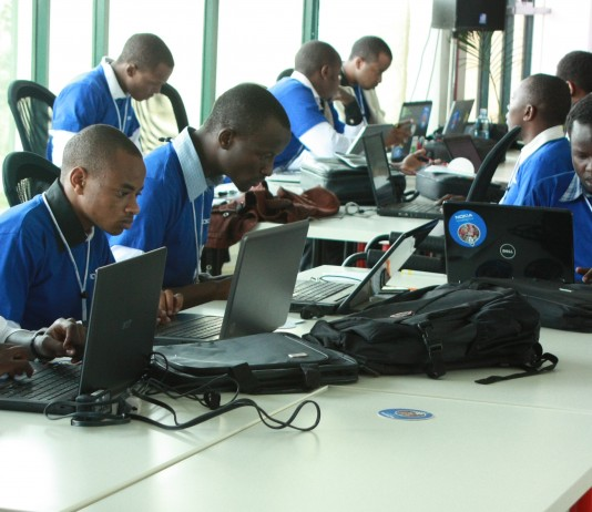Picture: Showing are the Kenyan software developers participating in a hackathon organised by Nokia in June 2012. However, Internet of Things has commanded the attention of developers and tech professionals alike. Image Credit: Developlocal