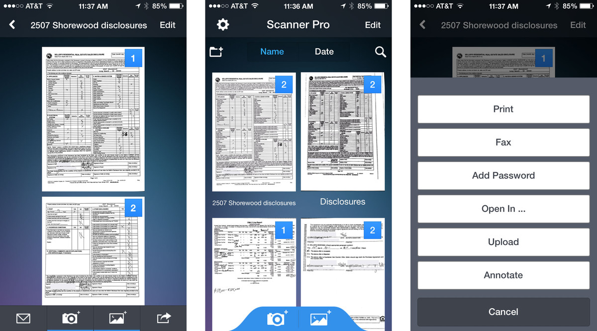 Scan documents and create a clean, editable PDF. Image Credit: IMore