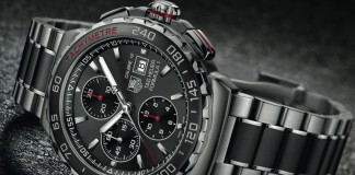 "Tag Heuer became on Monday the first Swiss watchmaker to offer a ""smartwatch"" to customers that combines Swiss design with U.S. technology. Image Credit: Wareable"