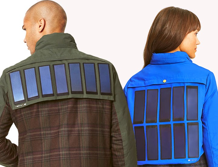 Tommy Hilfiger Solar Charging Jackets. Image Credit: Tommy
