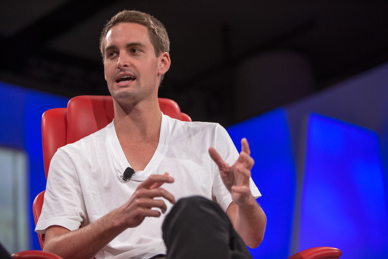 Evan Spiegel took off when Snapchat began to grow and decided to focus his efforts on the business.Image Credit: recode