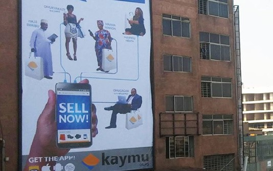 Kaymu is one of the e-commerce websites that have been advertising heavily offline. Image Credit: BigEye