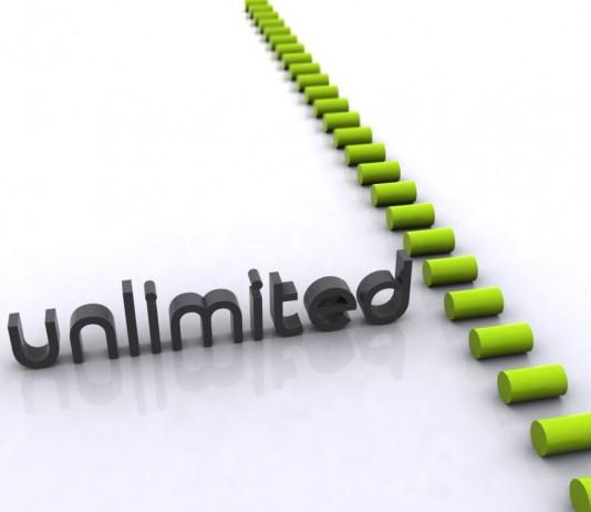 Unlimited Data. Image Credit: All4Desktop