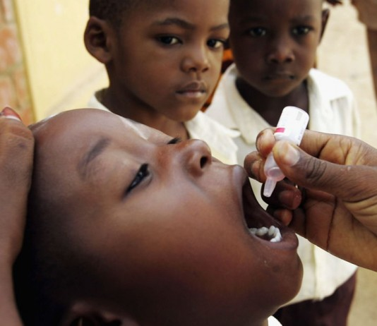 Africa went a year without any new polio cases. Image Credit: APlus