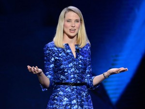Yahoo CEO Marissa Mayer delivering a keynote address at the International C.E.S. Las Vegas, Nevada; January 7, 2014. Image Credit: TheNewEconomy