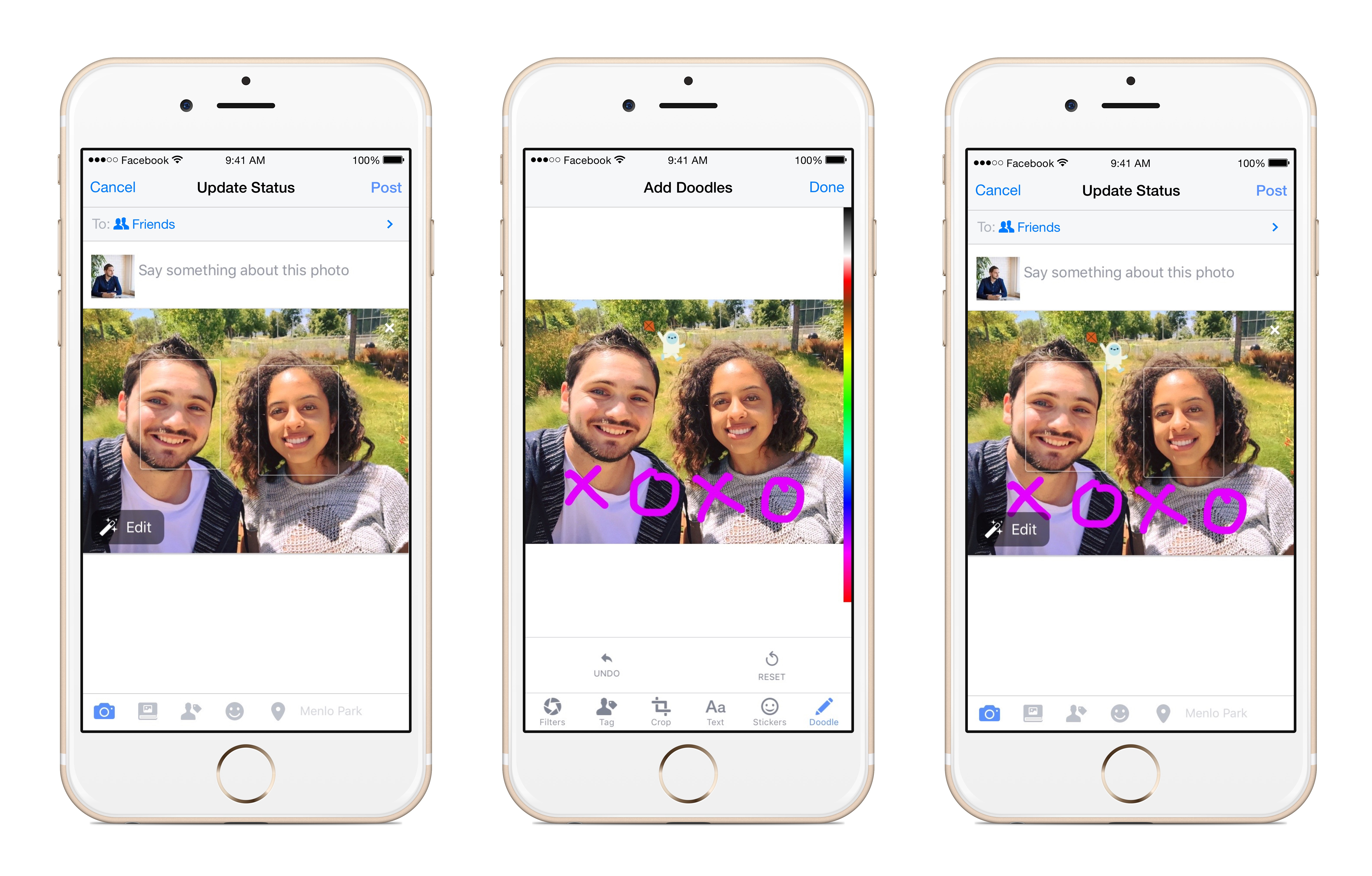 You can share your iPhone 6s Live Photos on Facebook Facebook 101: Turn Your Live Photo into How to Post, live, photos to Facebook from iPhone Running iOS