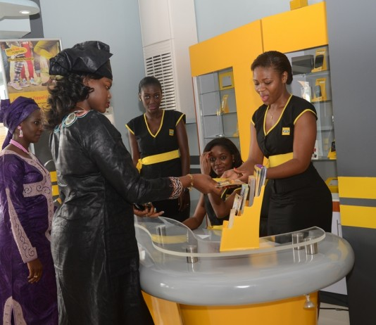 MTN Cameroon at their launch of 4G mobile network. Image Credit: CameroonOnline