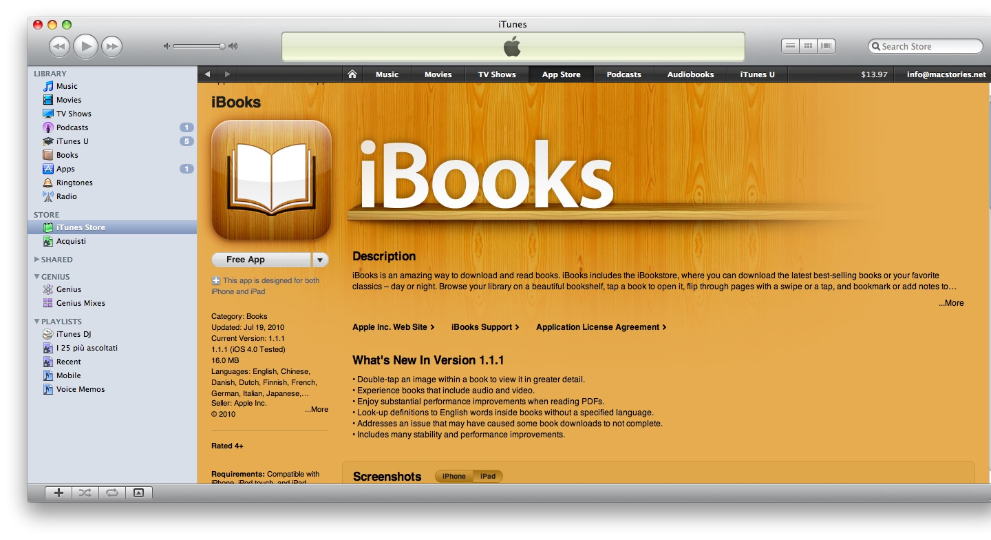 how to permantly delete books from all books in ibooks