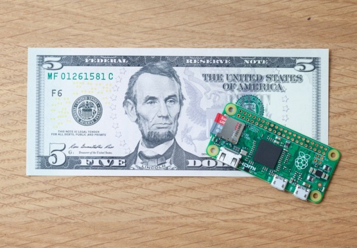 The Rasperry Pi Zero available for only $5 is indeed one of the best products of the year.