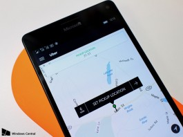 Uber's product team has now upgraded its smartphone only experience into an all-round Window Universal app. Image Credit: Window Scentral