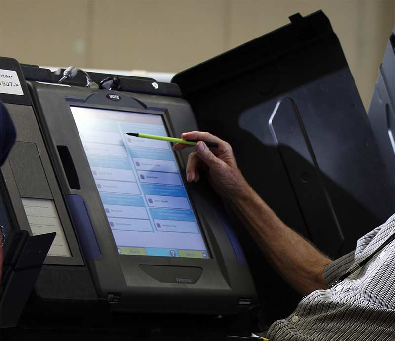 The U.S.'s ancient voting machines