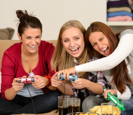 Women are just about as likely as men to have ever played video games. Image Credit: BuildDirect