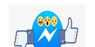 Facebook Messenger is showing some users a Reactions options in messages. Image Credit: TechCrunch