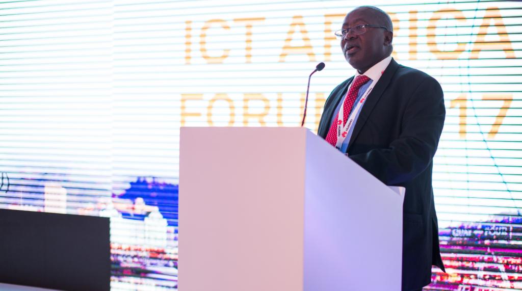 Abdoulkarim Soumaila, the Secretary General of African Telecommunications Union