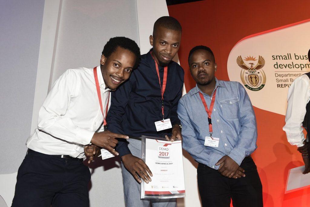 Kenya winners for 2017 DEMO Africa. (Photo Courtesy: Demo Africa)