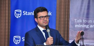 Jibran Qureishi,  Stanbic  Bank's Regional  Economist  for East Africa.