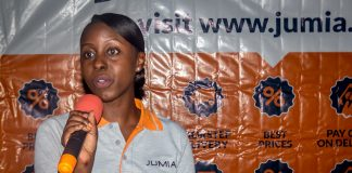 Stacey Mwesezi Marketing Manager, Jumia Uganda. (Photo Courtesy: Twitter @iam__one)