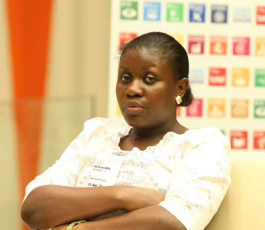 Barbara Birungi; Director at Hive Colab and Founder of WITU, is a ground-breaking innovator dedicated to promoting the economic empowerment of youth. She is set to feature at the 2018 Africa Tech Summit in Rwanda, Kigali on 15th Feb, 2018. (Photo Courtesy: IISD Reporting Services)