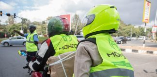 Mondo Ride to launch in Kampala. (Photo Credit: Twitter - @MondoRide254)