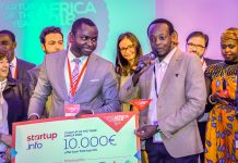 Startup of the Year Africa 2018 - HydroIQ from Kenya.
