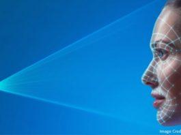 Smartphone Facial Recognition. (Photo Courtesy: Intel)