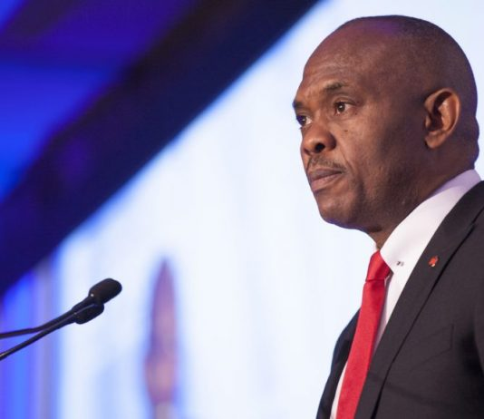 PICTURED: Tony Elumelu the Founder of the Tony Elumelu Foundation (TEF); an African non-profit organization headquartered in Lagos, Nigeria.(Photo Courtesy: AlphaGamma)