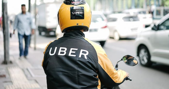 Uber Moto-taxi demand service to launch in Uganda. Set to face competition with pioneer SafeBoda. (Photo Courtesy: Bohechio Digital)