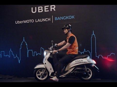 UberMoto launch in Bangkok. (Photo Credit: Uber)