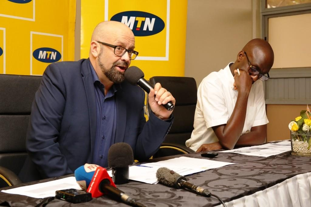 CMO MTN Uganda; Olivier Prentout, reveals 'MTN Shots' - a platform where young creatives will be able to upload short videos and make money out of them.