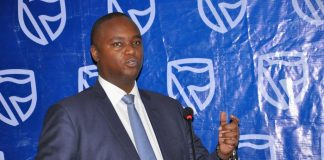 Patrick Mweheire the Chief Executive Officer of Stanbic Bank Uganda.