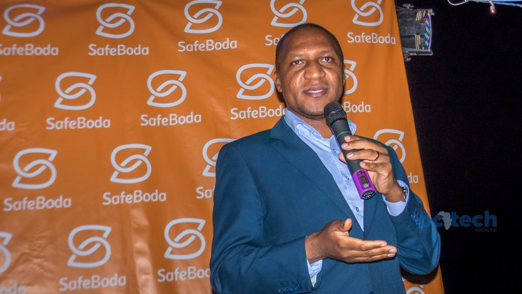Mr. Ronald Amanyire from the National Road Safety Council was the Guest of Honor as SafeBoda was launching their campaign #YourCityRide.